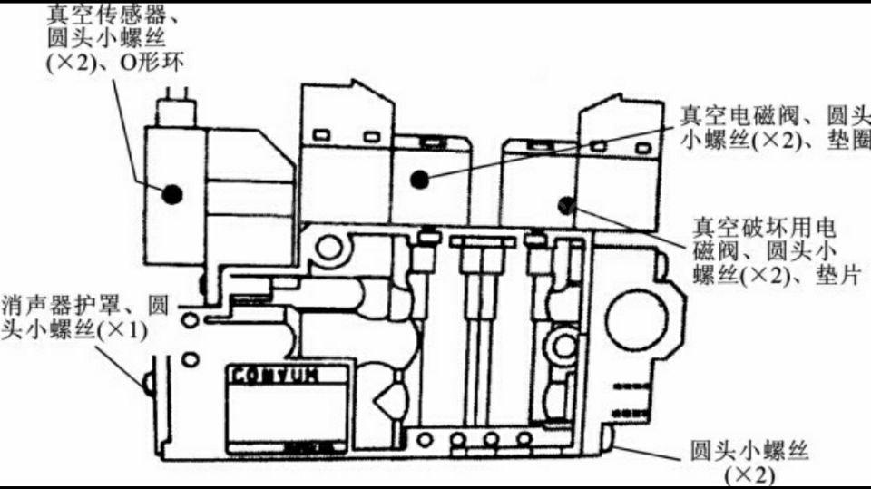 smt贴片机吸嘴厂家分享推杆器的结构图